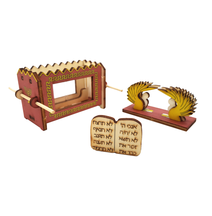 Ark of the Covenant – colored
