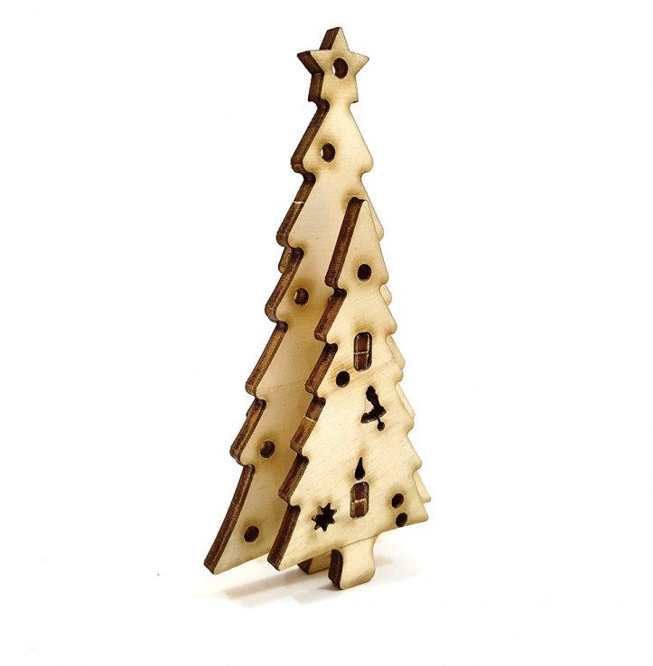 Christmas decorations – kit of 5 types DIY