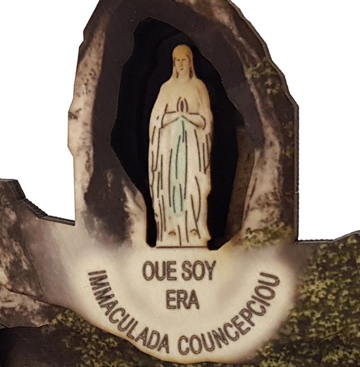 Lady of Lourdes – colored