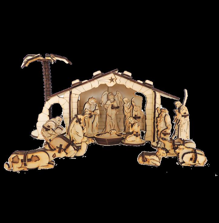 Nativity – Set 3D / extra large