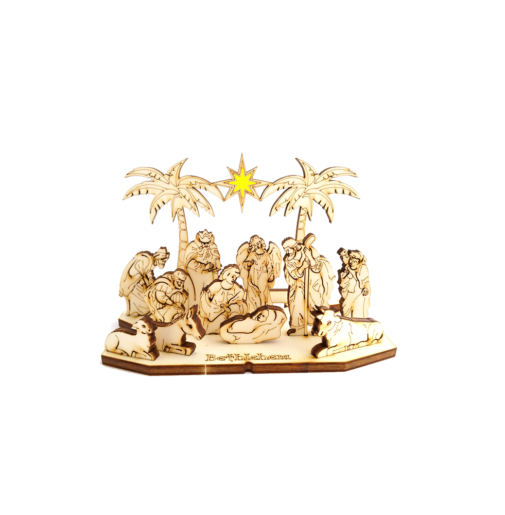 Nativity Set with star