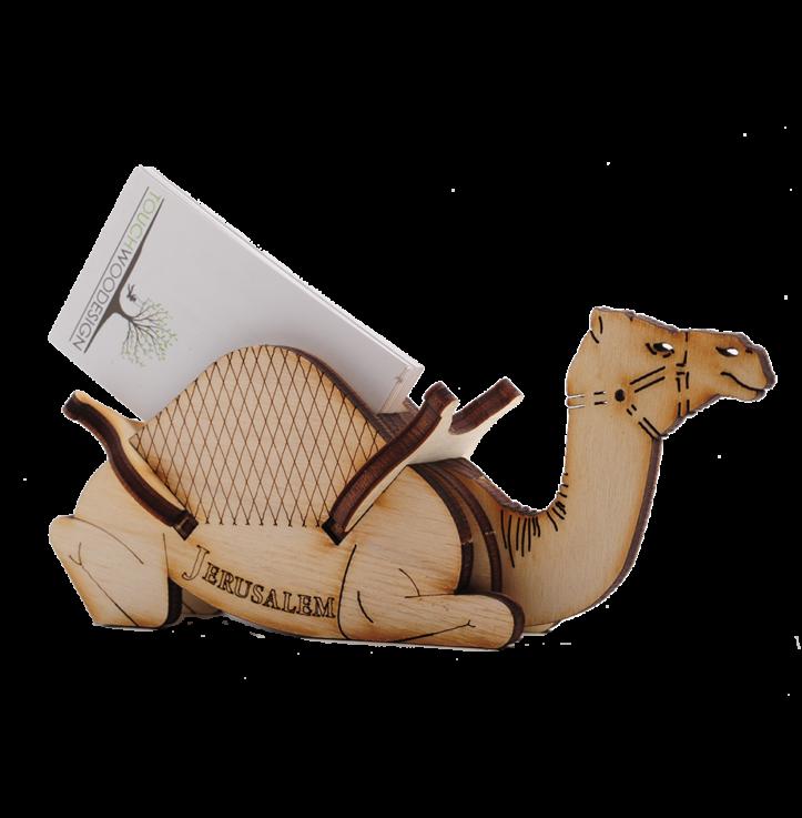 Sitting Camel – business card holder