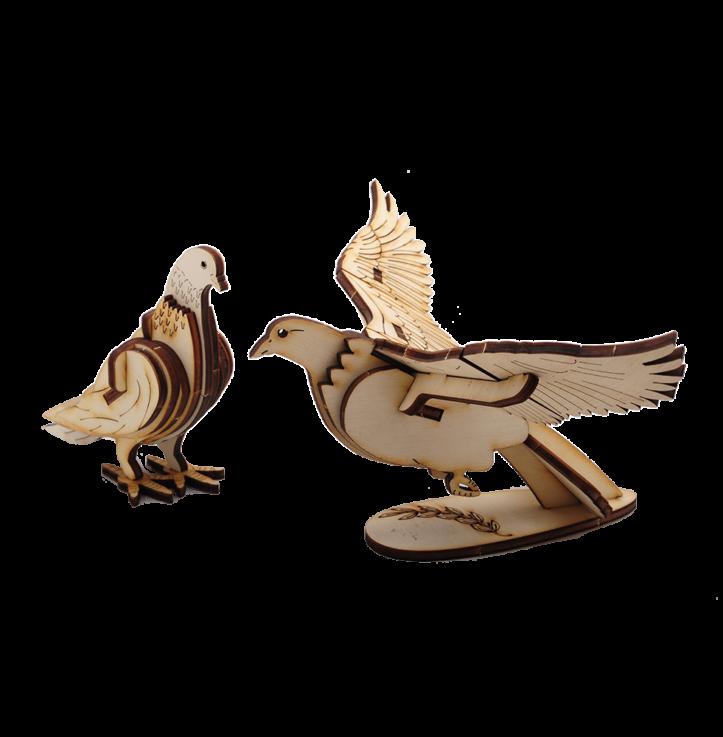 Standing Dove