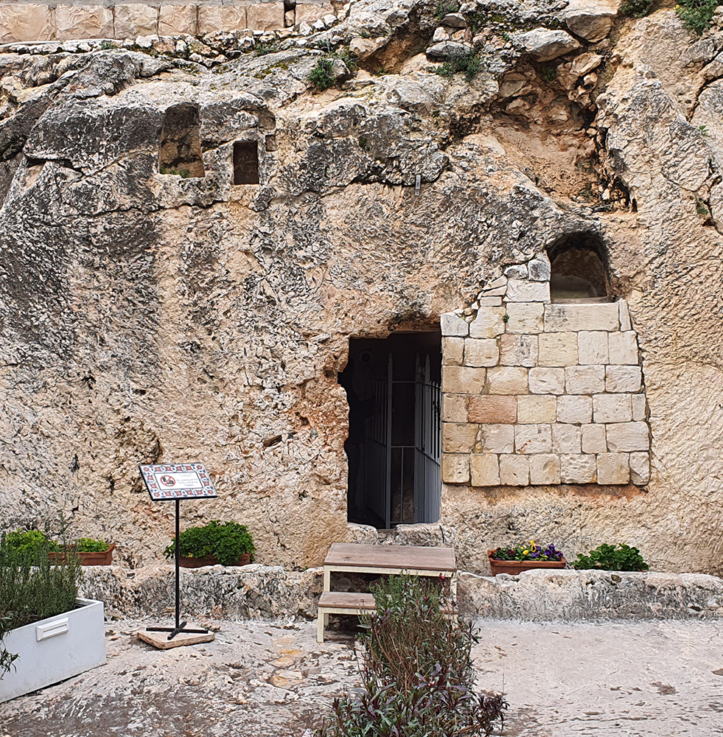 The Garden Tomb – colored