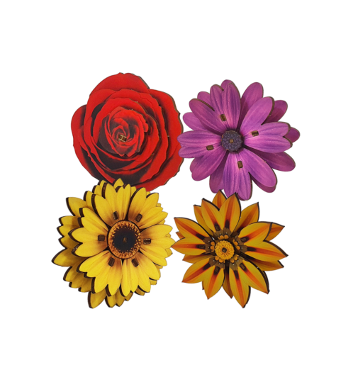 Pack of 4 Flowers