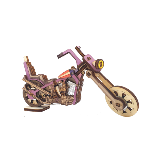 Harley Davidson motorcycle / colored