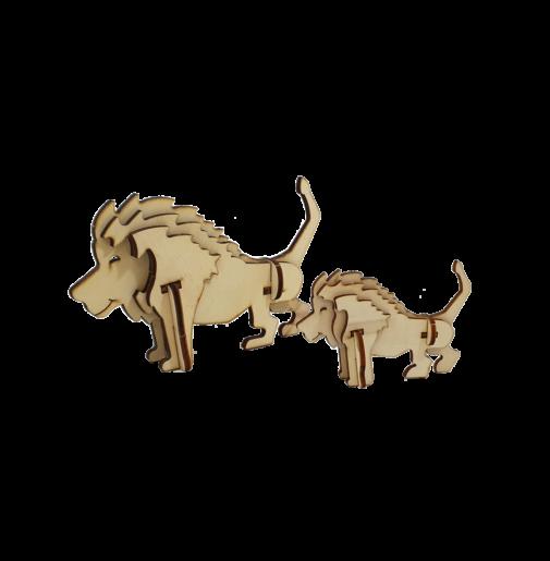 Lion – kids / small (DIY)