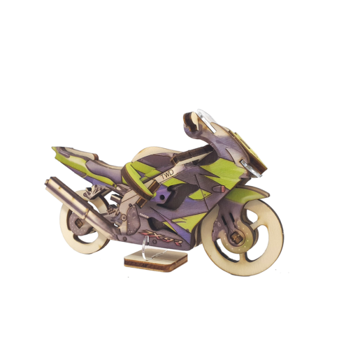 Sports motorcycle / colored