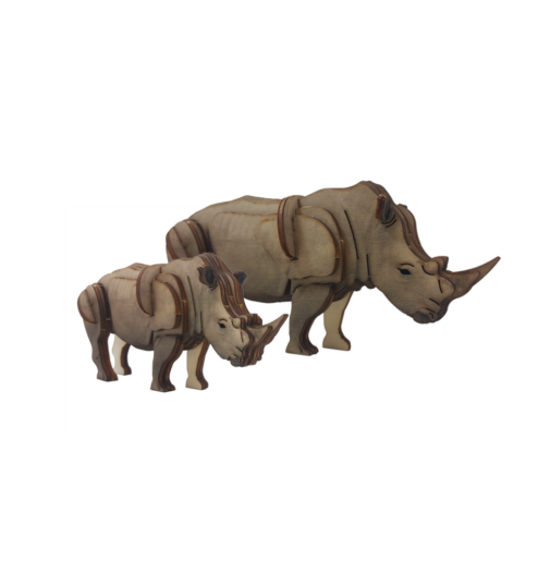 Rhino – small / colored