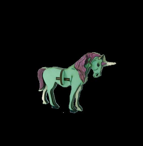 Unicorn Horse / colored