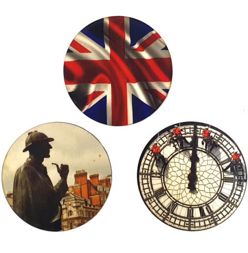 London – Coaster Set of 3