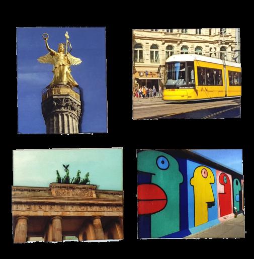 Berlin – Magnets Set of 4