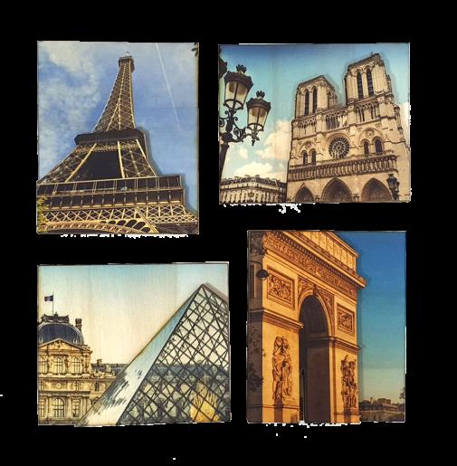 Paris – Magnets Set of 4