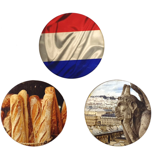 Paris – Coaster Set of 3