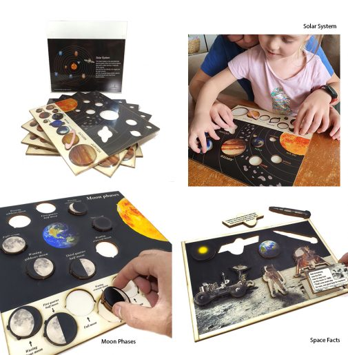Space Puzzles – Set of 3