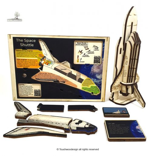 Space Shuttle Set of 2 puzzles